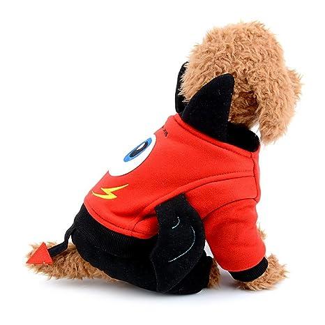 Smille_Lucky_store - Traje de forro polar para perro, disfraz de ...