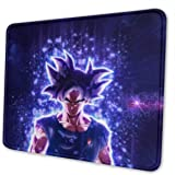 Anime Dragon Ball Son Guku Gaming Mouse Mat Pad Custom Professional Mousepad, Stitched Edges, Ideal for Desk Cover…