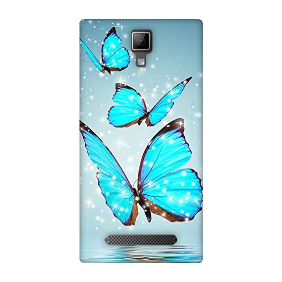 new style 3763e 63539 Fasheen Back Cover for Micromax Canvas Xpress 4G Q413 Blue Best ...