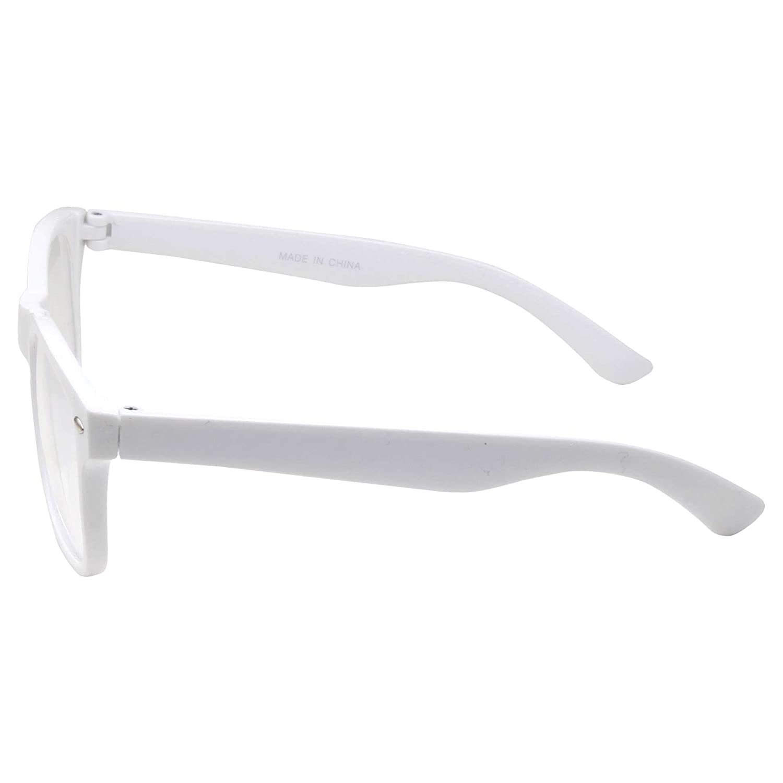 grinderPUNCH K61M-TOR-GP Kids Nerd Glasses Clear Lens Geek Fake for Costume Childrens Age 3-10