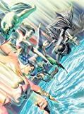 img - for Absolute Justice League: The World's Greatest Superheroes by Alex Ross & Paul Dini (New Edition) book / textbook / text book