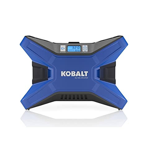 Kobalt portable air compressor 12 v and 120v