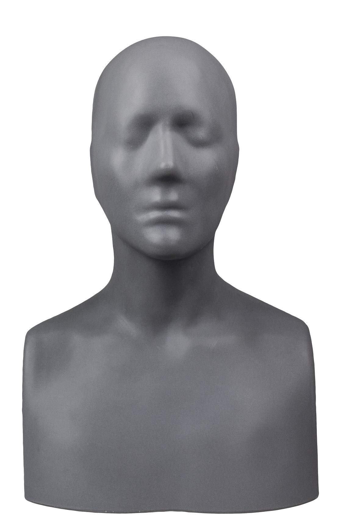 The Monster Makers Life Size Female''Alanna Head'' 2.0 Head Armature for Mask Making and Clay Busts by The Monster Makers