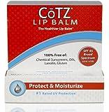 Cotz Lip Balm Spf 45, .14 Ounce (3 Pack) by FALLENE LTD
