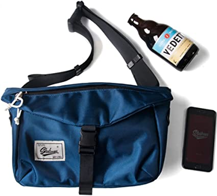 Mens Sport Crossbody Shoulder Bag Chest Bag Waist Bag Travel Pack Zip Casual Bag