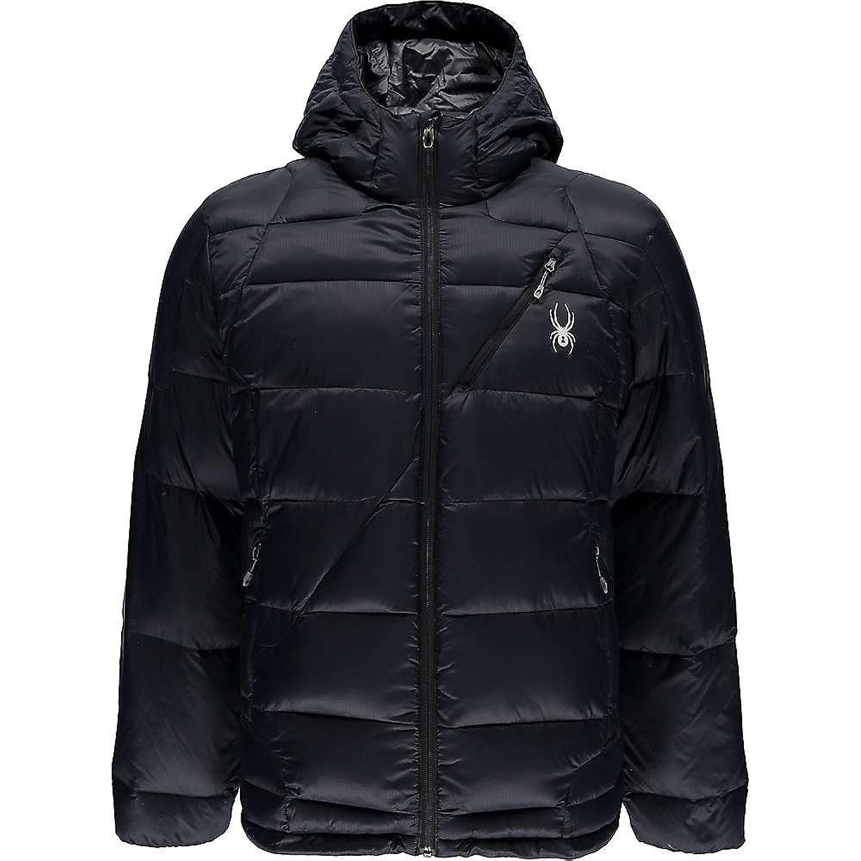 スパイダー アウター ジャケットブルゾン Spyder Men's Bernese Jacket Black / Bl [並行輸入品] B079BST8DD Medium