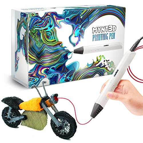 MYNT3D Professional Printing 3D Pen with OLED Display by MYNT3D