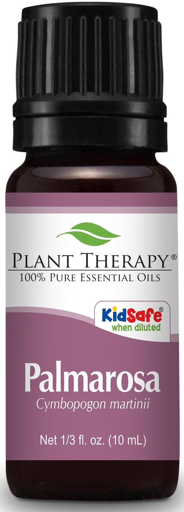 Plant Therapy Palmarosa Essential Oil 10 mL (1/3 oz) 100% Pure, Undiluted, Therapeutic Grade