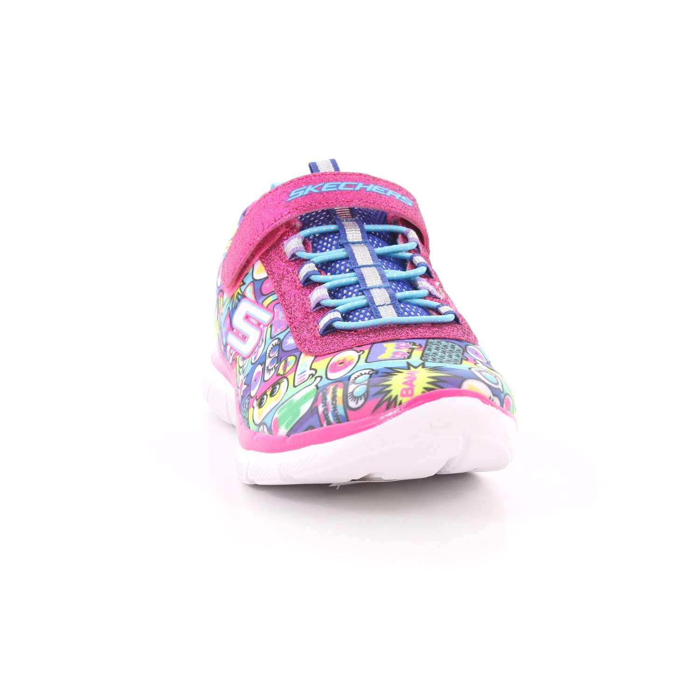 Skechers 52 81692L Scarpa Strappi + Elastico Bambina