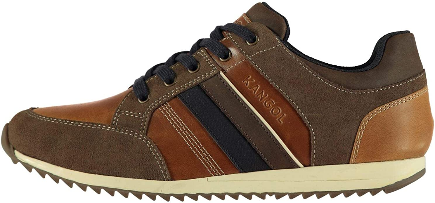 Kangol Mens Morden Leather Trainers