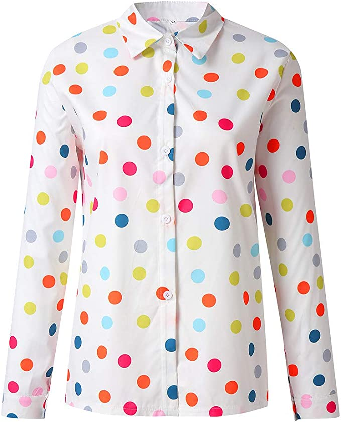 Blusa De Las Mujeres,Jessboy Camisa Holgada De Verano De ...