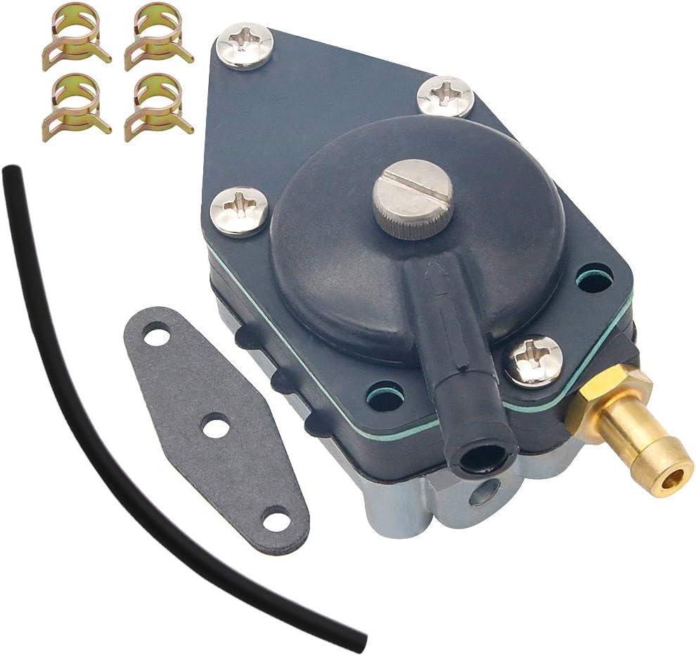Yooppa 438556 Fuel Pump for Johnson Evinrude 2 Hose 438556 Fuel Pump Sierra Marine 18-7352 388268 398338 432451 398387 433387 1399-07352 0777735 Mallory 9-35352 Johnson Outboard 438556 Fuel Pump