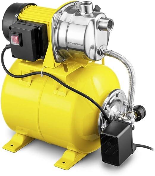 TROTEC Bomba de Agua Doméstica TGP 1025 ES aspersor para césped Bomba de jardín 1000 W 3300 l/h Capacidad: Amazon.es: Jardín
