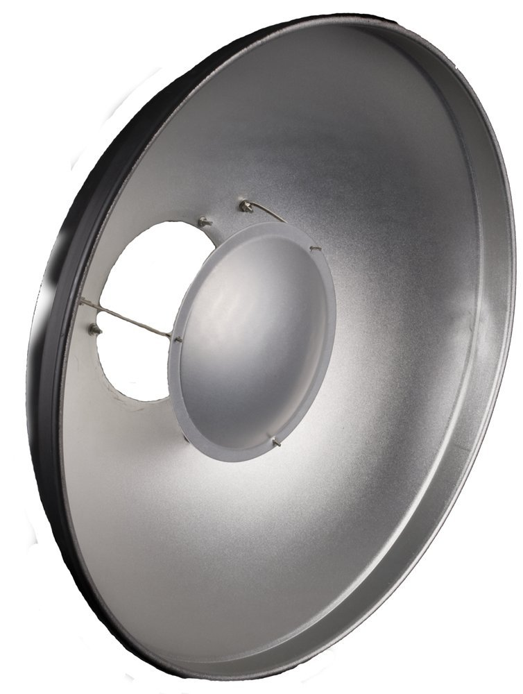 Interfit RF5000 Stellar Beauty Dish Reflector 15.5-Inch with -InchS-Inch Type Mou by Interfit