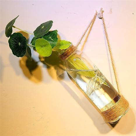KWXHG Las Paredes están Decoradas jarrones de Cristal Decorado a Mano Botellas de Agua-bae