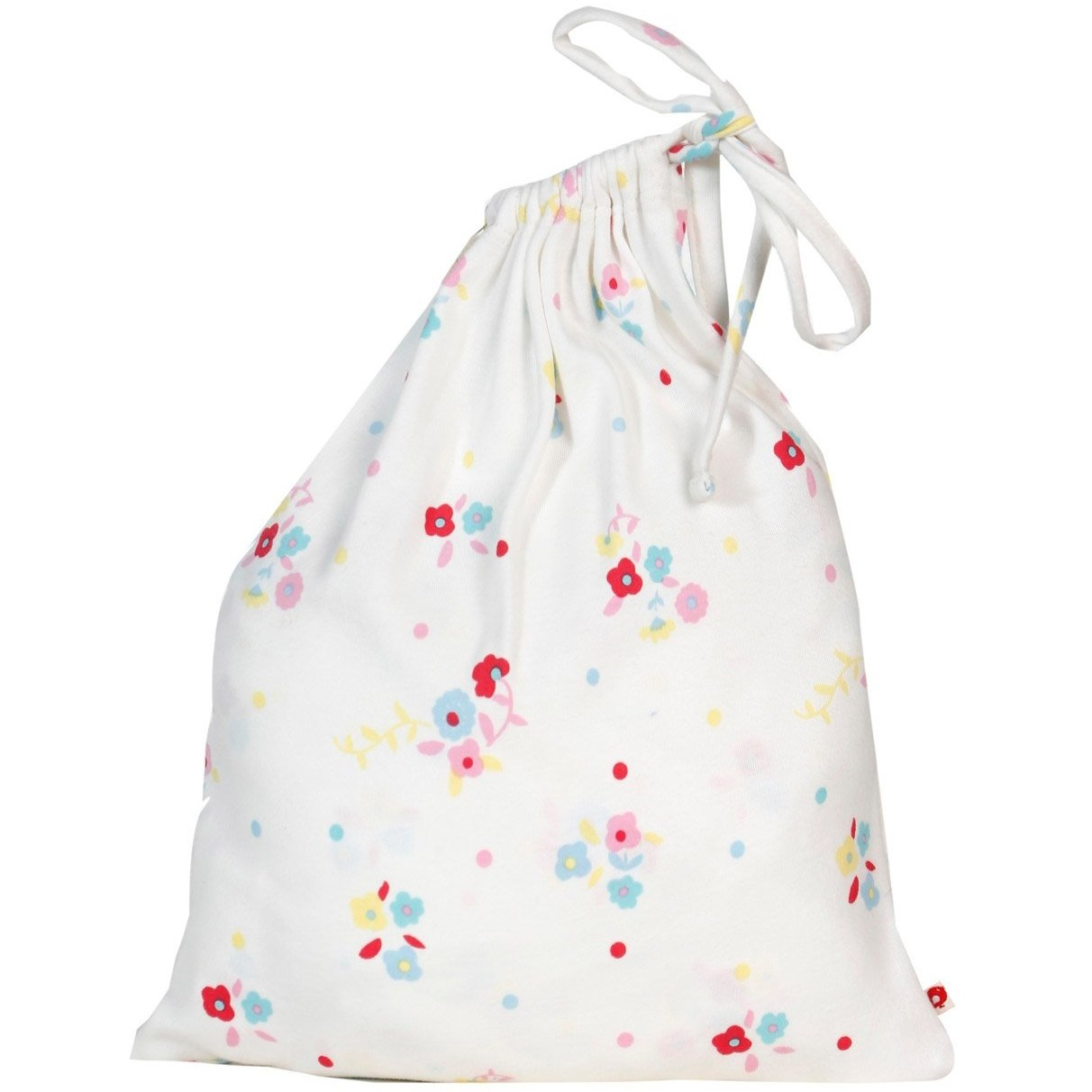 Piccalilly Baby Girl Cot Bed Fitted Sheet Organic Cotton Retro Pink Floral 140 x 70 cm