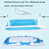 Baby Portable Collapsible Bathing Tub, SKYROKU Baby Bath tub for Newborn Infant Child with Foldable Safe and Sturdy Non Slip for Easy Bathing