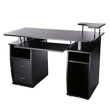 Escritorio de oficina para ordenador portátil, estación de trabajo para el hogar, PC,