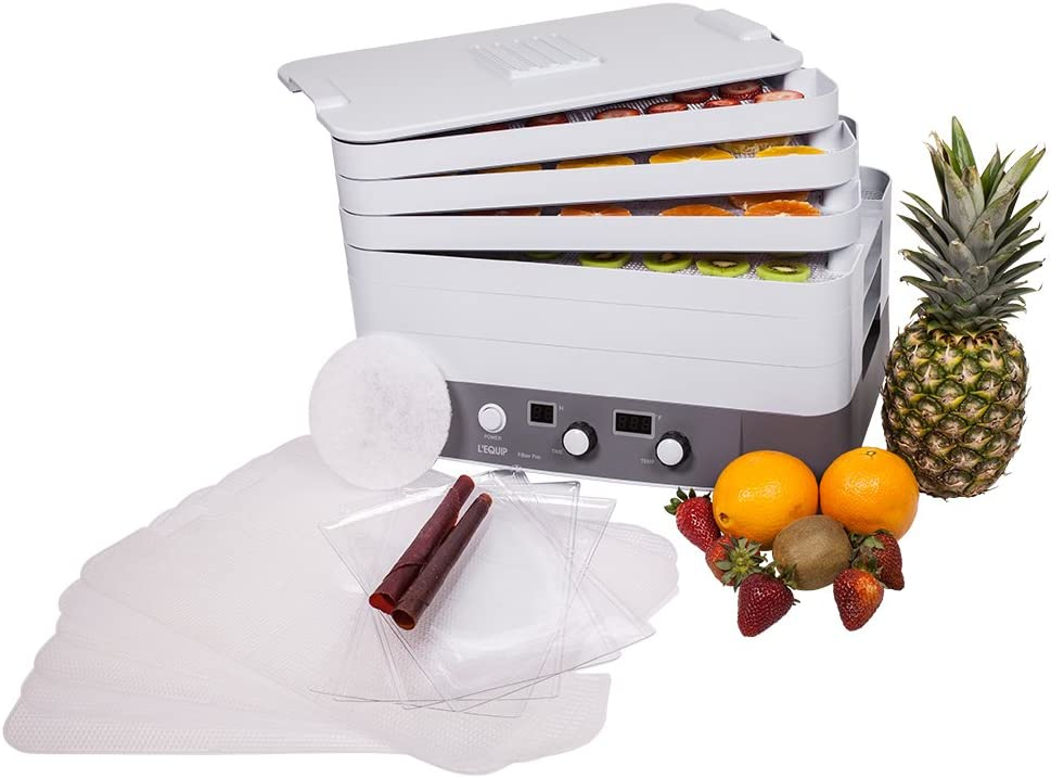 Best Dehydrators for Raw Food Vegetables (Vegans)