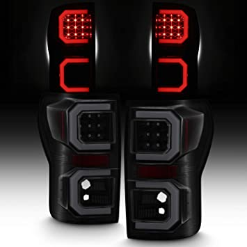 Black 07-13 Tundra Led Perform Tail Lights Lamps Left+Right 2007-2013