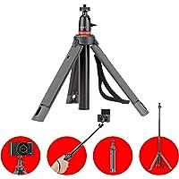 JOBY JB01549-BWW TelePod 325 Teleskopowy statyw teleskopowy, wyciągany monopod, kij do selfie z głowicą kulową, do CSC…