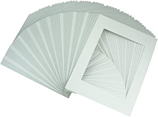 Golden State Art 11x14 White Mats Backing Complete Set