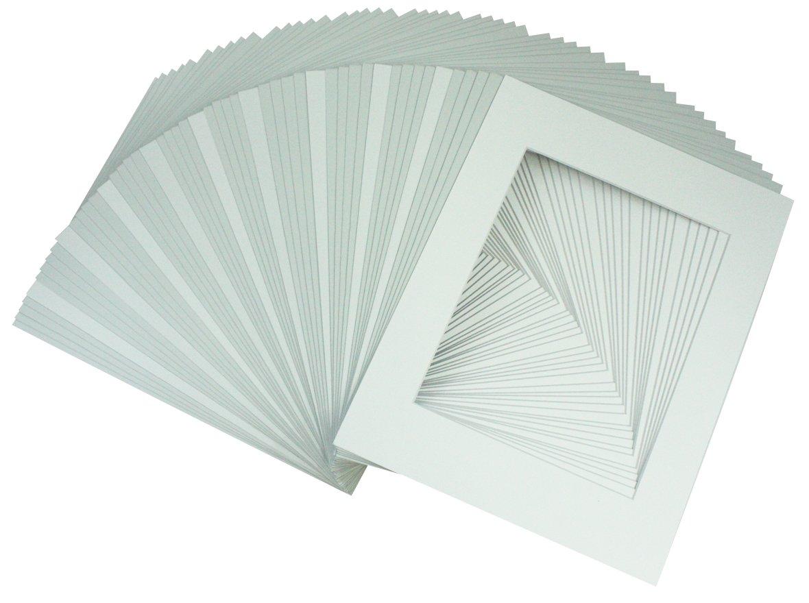 Golden State Art Acid Free Pack Of 50 11x14 White