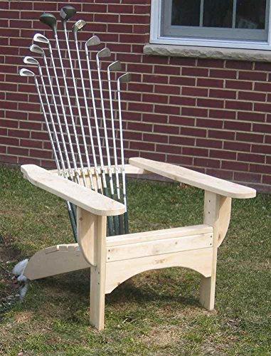 Golfclub Adirondack Chair In Blond Finish