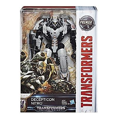 Transformers: The Last Knight Premier Edition Voyager Decepticon Nitro by Hasbro