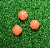 PrideSports PAOB5612 Orange Solid Practice Balls