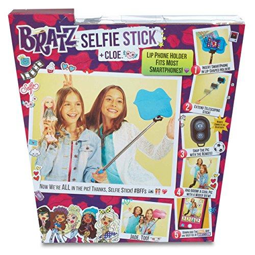bratz selfie stick with doll cloe new ebay. Black Bedroom Furniture Sets. Home Design Ideas