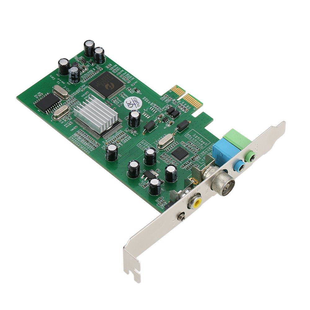 Fesjoy Tarjeta Sintonizadora de TV Interna PCI-E Video MPEG ...