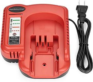 YTPowerPal BDCCN24 Battery Charger for Black Decker 9.6V 18V 24V NiCD & NiMH Battery HPB18-OPE HPB18 FS18C HPB14 HPB12 HPB24 Black and Decker 18V Battery Charger