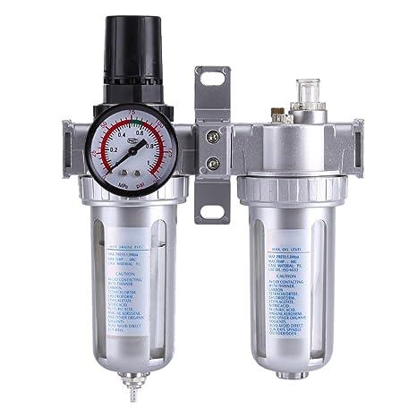 Separador Agua Aceite, Compresor del aerógrafo del filtro de la trampa, Regulador de Filtro
