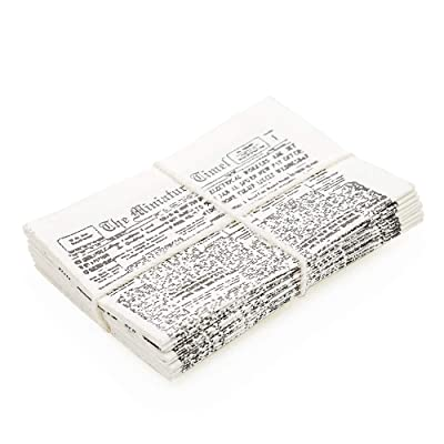 Odoria 1:12 Miniature Newspaper Bundle Dollhouse Decoration Accessories: Toys & Games