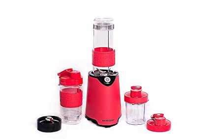 Buy red mironi personal blender red complete w free recipe red mironi personal blender red complete w free recipe booklet forumfinder Image collections
