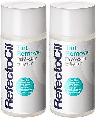 Refectocil Tint Remover - Eliminador de manchas de color para cejas y color de pestañas, 150 ml