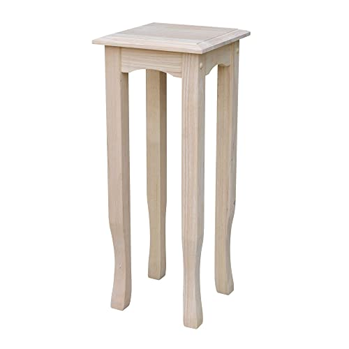 International Concepts 30-Inch Tea Table, Unfinished