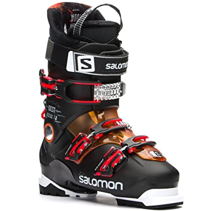 fashion styles cheaper quality design Salomon Quest Access 70 Ski Boot Men's Black/Orange Translucent/Fluorescent  Orange 26.5