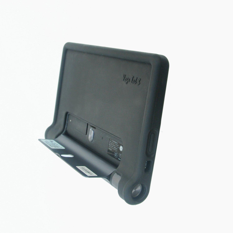 Amazon.com: MingShore for Lenovo Yoga Tab 3 8 Inch Tablet Case Model YT3-850M YT3-850F YT3-850L Yoga 3 HD 8 Silicone Rugged Case Black: Computers & ...