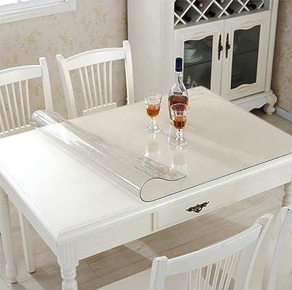 Ever Fairy Plastic Cocina de comedor transparente Cubierta de mesa ...