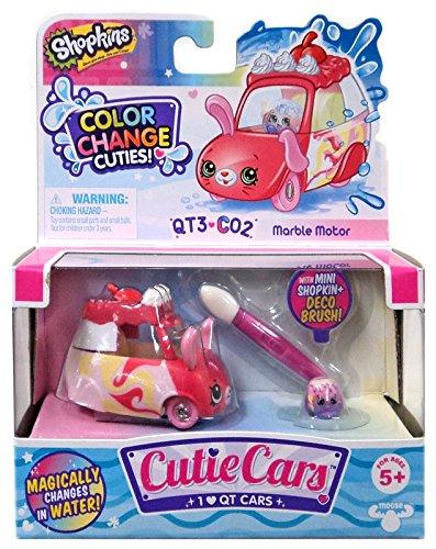 Shopkins Cutie Cars Series 3 Color Change Cuties QT3-C02 Marble Motor Moose Toys