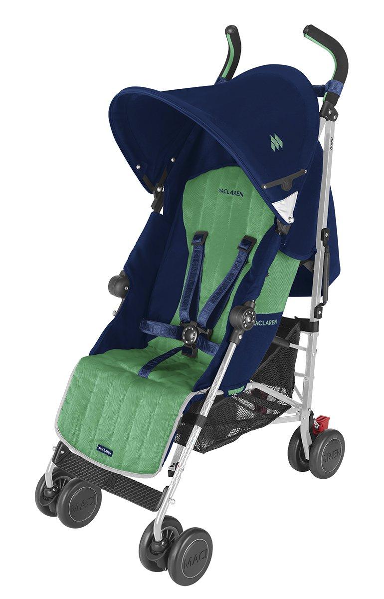 Maclaren Quest Stroller, Medieval Blue/Jelly Bean by Maclaren: Amazon.es: Bebé
