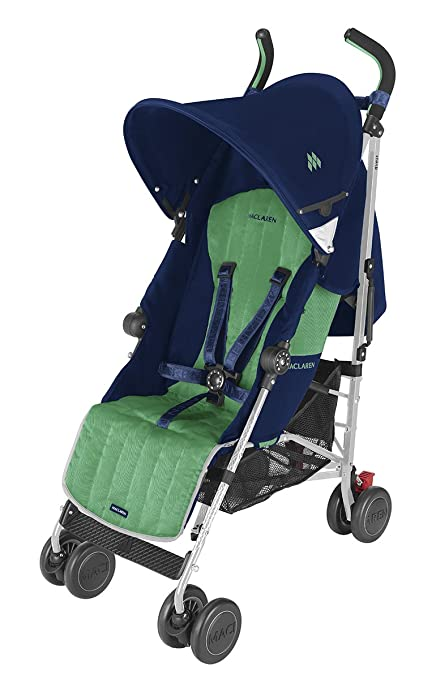Maclaren Quest Stroller, Medieval Blue/Jelly Bean by Maclaren