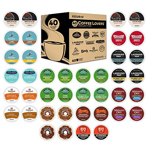 Keurig K-Cup 40 Upon Coffee Lover's Variety Pack