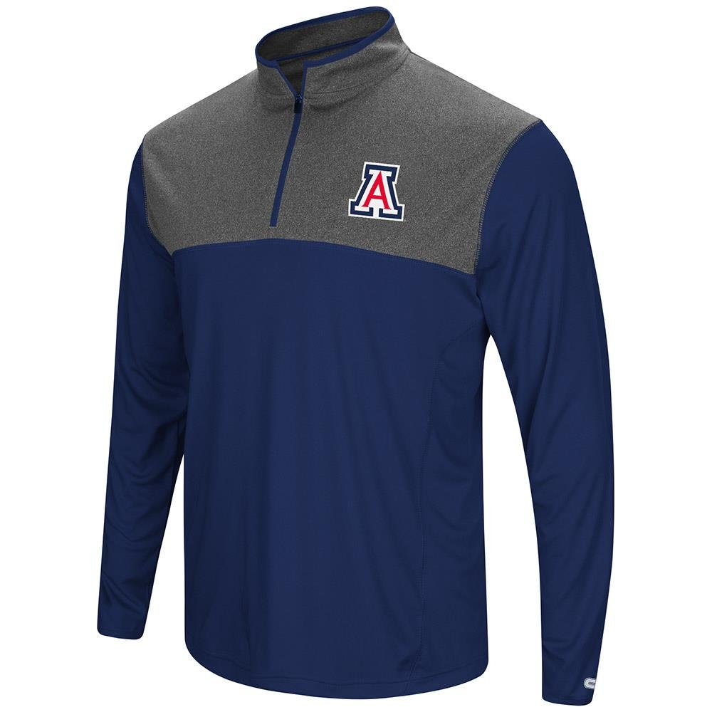 ColosseumメンズArizona Wildcats Quarter Zip風シャツ B0795854VY  Small