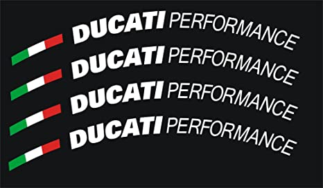 DUCATI PERFORMANCE WHEEL RIM STICKERS 1098 999 NEW