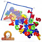 Bath Letters And Numbers With Bath Toy Organizer The Best Educational Bath Toys with Premium Bath Toy Storage and Non Toxic BPA Free Foam Letters The Perfect Gift With Free Bonus Toddler Care Guide E