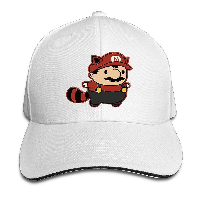 FOODE Super Cute Mario Peaked Baseball Cap Snapback Hats