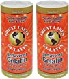 Great Lakes Unflavored Gelatin, Kosher, 16-Ounce Can (Pack of 2)